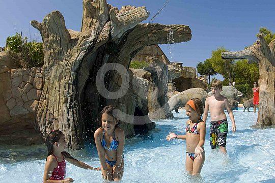 Die Kinderwelt im Wasserpark in Magaluf auf Mallorca