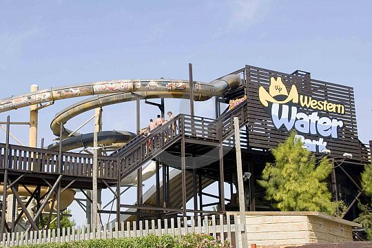 The Western Water Park in Majorca