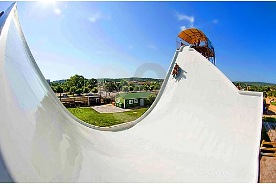 Boomerang slide in Western Water Park