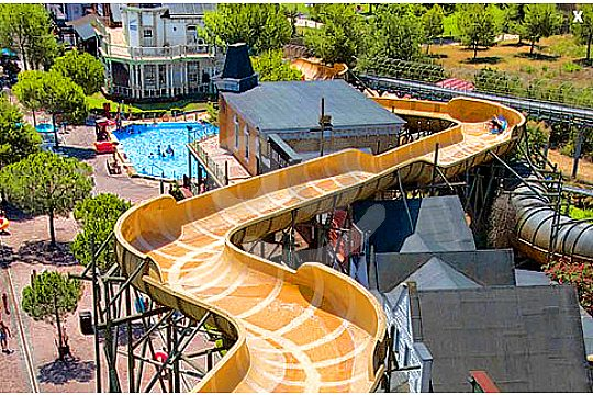 Marineland Mallorca slides