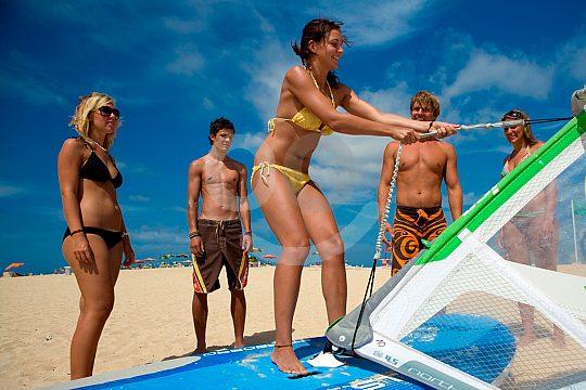 Windsurfing Beach Fuerteventura