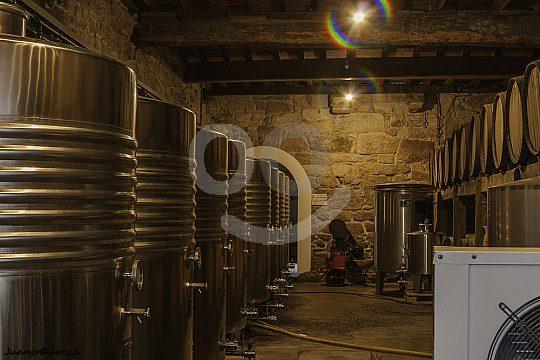 wine cellars in Galicia