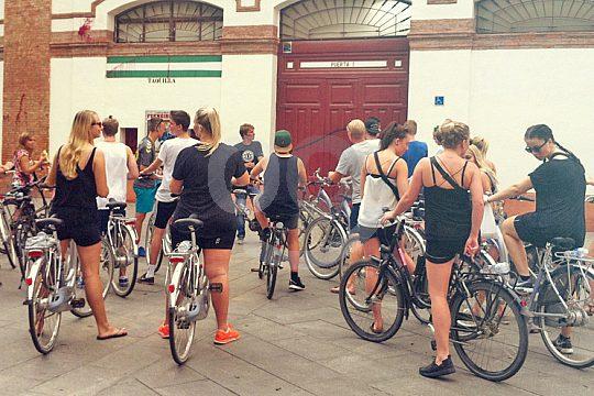 explore Malaga by bike