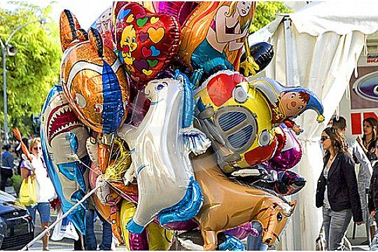 ballons Inca market tour
