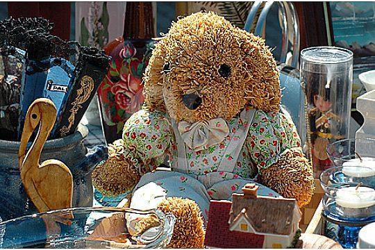 Teddybears Inca weekly market excursion