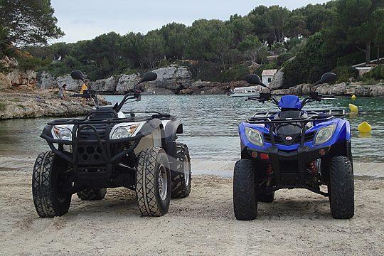 Quad excursion in Menorca