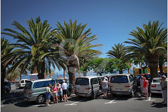 Stop at the island tour in Tenerife