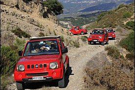 Jeep Safari auf Rhodos