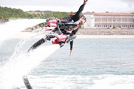 Flyboarden in Gorliz