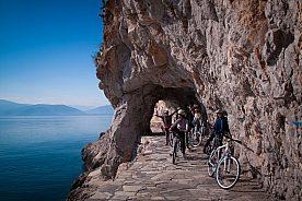 Fahrradfahren am Argolischen Golf
