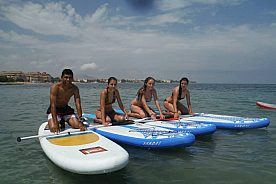 Stand Up Paddle Surf Kurs in Altea