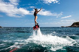 Flyboard Majorca: new watersports activity in the southwest