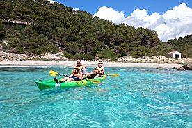 Menorca Kajak fahren