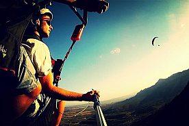 Tandem Paragliding über der Costa Blanca