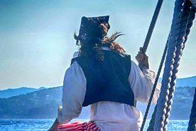 Tour mit dem Piraten Boot in Palamos