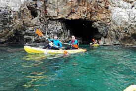 Dénia Kayak Tour in die Seehöhle