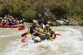 bei Granada Rafting nahe Malaga