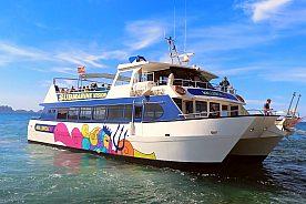 Boat trip in Mallorca to Dragonera island, start in Paguera or Santa Ponsa