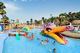 Funtour Aqualand Becken Drachenwelt Teneriffa