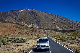Blick auf den Vulkan Teide auf Teneriffa mit der VIP Tour