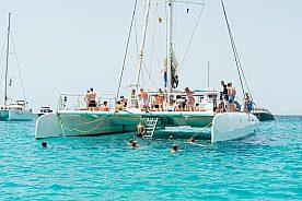 Katamaran Tour ab Ibiza nach Formentera