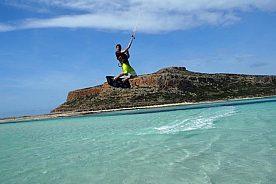 Kitesurfen Kurs auf Kreta