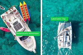 Katamaran und Jet Ski Tour