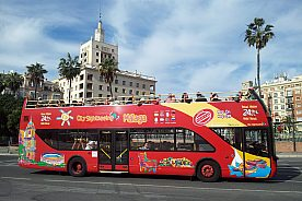 Tour mit dem City Sightseeing Bus in Málaga