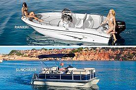 Sunchaser Boot ohne Führerschein in Cala d'Or mieten