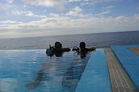 Atlantischer Ozean Tauchen lernen