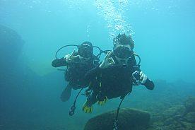 Tauchen auf Lanzarote bei einem Open Water Kurs