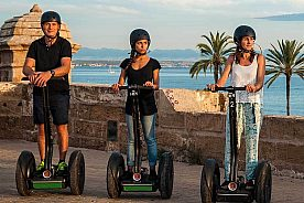 A super Segway Tour in Palma or Playa de Palma: Ride a Segway in Mallorca
