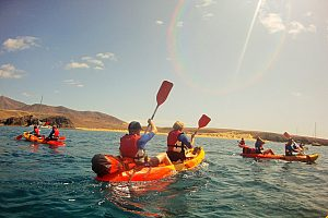 Exciting kayak tours in Lanzarote with optional snorkeling