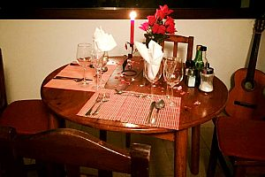 Teneriffa romantisches Candlelight Dinner