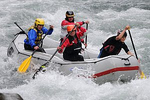 Wildwasser Abenteuer in der Toskana