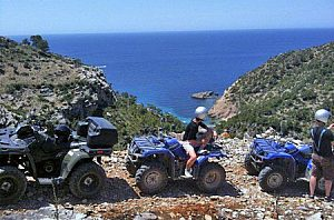 "Quad Mallorca ""Quad and sightseeing"" tour, starting from Andratx"