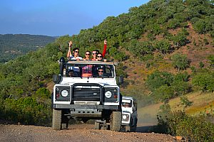 Portugal, Algarve: jeep tours with optional water sports or boat tour