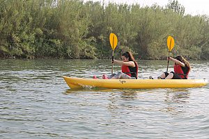 Rent a kayak in Deltebre and explore the Ebro Delta on a kayak tour