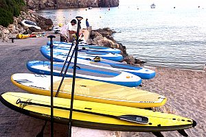 SUP (Stand Up Paddle) in Menorca: rental or guided tour from Cala en Porter