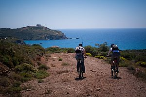 Mountainbike Tour ab Athen Ägäis-Küste Kap Sounion