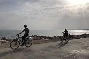 Sunset E-Bike Tour Athen Küste