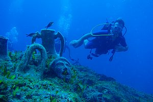 Active in Rhodes: scuba diving in the Aegean and cycling along the northeast coast