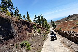 The original and best guided quad tour on Tenerife