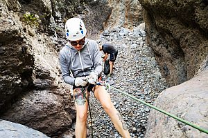 Canyoning adventure in Costa Adeje (Guaria Ravine)
