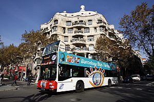 Hop on / Hop off City Sightseeing Bus Barcelona