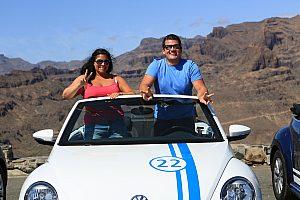 Tagestour im Cabrio durch die Berge