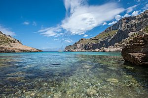 Holiday walks in Mallorca: coastal hike Cala Barca - Cala Mondrago - Cala Figuera