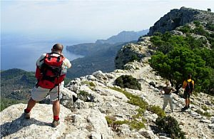 """Hike on the path of the Archduke """"Cami de S'Arxiduc"""" from Valdemossa"""