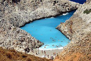 Bootstour Seitan Bucht Kreta