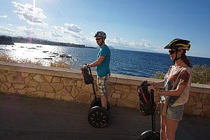 Sightseeing in Chania per Segway